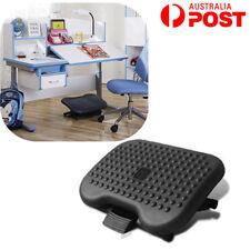 Foot Rest Adjustable Stool Office Footrest Comfort Desk Home Use Height Angle AU
