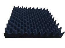 Acoustic Sound Stop Absorption Egg wave shape Soundproof Foam Sponge in Black 8p
