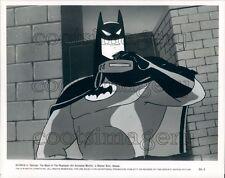 1993 Scene From Batman Mask of The Phantasm Animated Movie Press Photo