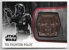 2015 Topps Star Wars The Force Awakens Serie 1 Medallón M-49 Tie Fighter Piloto