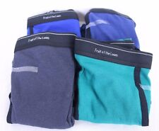 FTL Fruit of the Loom Underwear Lot of 4 Blue Green Multi-Color Briefs Size XL