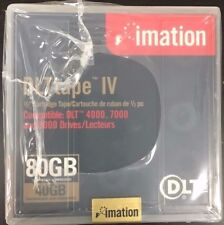 10x Imation Black Watch DLT Tape IV 40GB/80GB