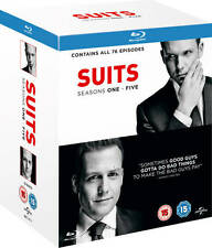 Suits - Season 1-5 (Blu-ray) BRAND NEW!! Complete Seasons 1 2 3 4 5