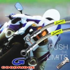Kawasaki KX80 1997-2001 Wezmoto Standard Braided Brake Lines
