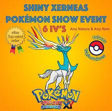 Pokémon ORAS / XY – SHINY XERNEAS POKÉMON SHOW XYZ EVENTO 6IV's – ANY NATURE