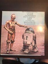 "The Story of Star Wars Episode 1977 12"" Vinyl Album Original Soundtrack"