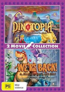 Dinotopia - Quest For The Ruby Sunstone/We're Back - A Dinosaur Story (DVD 2017)