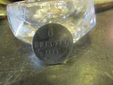 ancienne piece monnaie coin austria autriche 6 kreuzer 1848 A argent 3