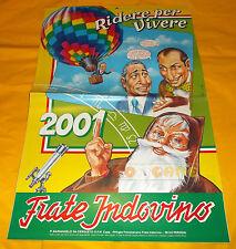 FRATE INDOVINO - Calendario - Anno 2001 - Ridere per Vivere