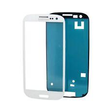2x org Samsung Galaxy s3 gt-i9300 i9305 pantalla LCD cristal blanco + Adhesivo