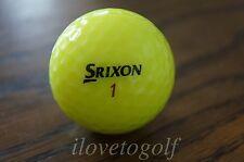 24 Aaaa Near Mint Srixon Mix Yellow Golf Balls Free Tees