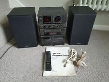 Vintage Sony MHC-3500 Mini Hifi System With Instructions & Remote Control