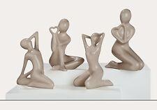 FRANCIS Sculpture Sitzende Schönheit - erste von rechts - Höhe ca. 23 cm - 30640