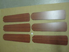 """6 New Craftmade 52"""" Cherry Color Ceiling Fan Blades Contractor Plus"""