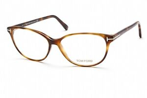 TOM FORD FT5421 053 Eyeglasses Blonde Havana Frame 53 mm