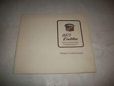 1975 CADILLAC SALES BROCHURE CALAIS DE VILLE  ELDORADO FLEETWOOD LIMOUSINE CDN