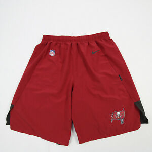 Tampa Bay Buccaneers Nike Dri-Fit Athletic Shorts Men's Red Used
