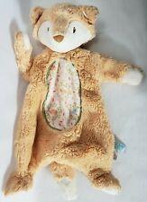 "Douglas Baby Orange Fox Sshlumpie Lovey 16"" Security Plush Stuffed Head Large"