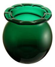 "Antique Glass Medical Apothecary Leech Jar BRISTOL GREEN 4"" Tall c1880"