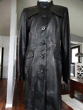 Danier Italian Leather Longer Coat M