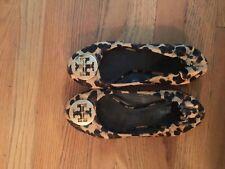 Tory Burch Leopard Print Flat Shoes, Sz 7 1/2