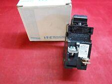 I-T-E P215 Pushmatic Breaker 15Amp 2-Pole 120/240V - New In Box