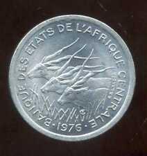 ETATS  AFRIQUE  CENTRALE  1 franc 1976 ( SPL )