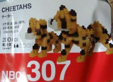 Cheetahs Nanoblock Micro Sized Building Block Construction Brick Toy Nbc307