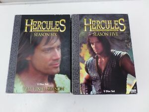 HERCULES LEGENDARY JOURNEYS SEASON FIVE SIX FINAL SEASON 14 DISC IN TOTAL R1