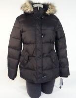 Lauren Ralph Lauren Black Toggle & Zip Down Fill Hooded Parka Coat Women's NWT