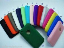 Silikon Tasche Schutz Hülle Farbe Silikontasche Silikonhülle Apple iPhone 3G 3GS