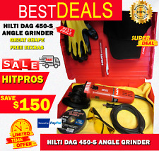 Hilti Dag 450 S Angle Grinder Great Shape Free Extras Fast Shipping