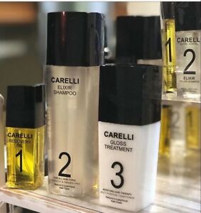 Carelli Healthy hair Pack, Recovery oil,shampoo,Treatment sulfate free natural