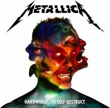 Hardwired...To Self-Destruct [LP] by Metallica (Vinyl, Nov-2016, 2 Discs, Blackened)