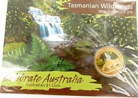 ".2010 $1 CELEBRATE AUSTRALIA ""TASMANIAN WILDERNESS"" COIN PACK. MINT UNOPENED."