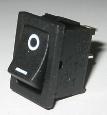 Jackson Electronics JS-606 Miniature Rocker Switch - SPST - 125V 10A - 250V 6A