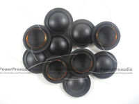 10 pcs 28mm diaphragm dome Tweeters speaker voice coil black silk