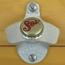 Cerveza Sol Mexican Beer BOTTLE CAP Starr X Wall Mount Bottle Opener NEW!