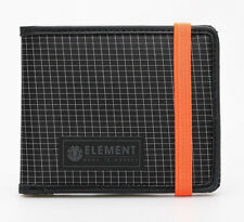 ELEMENT MENS WALLET.NEW ENDURE BLACK STRAP OVER MONEY CREDIT CARD PURSE 8W 2 23