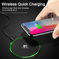 Wireless charger for Samsung Galaxy S7 S8 S9 S10 S20 Plus Fast Qi charging pad