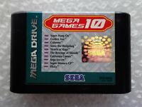 "Mega Games 10 ""Cartridge Only"" Sega Megadrive Pal"