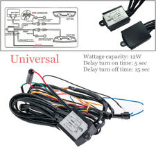 12W DRL LED Light Automatic ON/OFF Control Module Box Relay Harness Device Kit