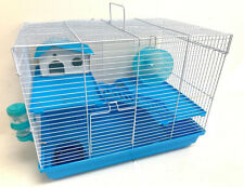 Hamster Habitat Cage 3-Levels Home House Running Wheel Rodent Gerbil Mouse Mice