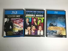 LOT of 3 BLURAY DISCS - Horrible Bosses, Nowhere Boy, Pirates of the Caribbean