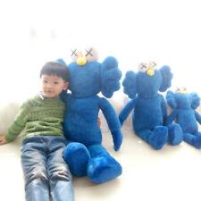 """KAWS BLUE BFF 20"""" PLUSH COMPANION Doll"""