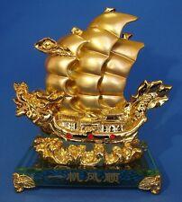 Feng Shui Dragon Boat Carrying Wealth