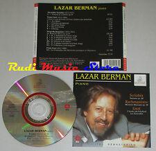 CD LAZAR BERMAN Piano SCRIBIN fantasia RACHMANINOV 16 LISZT ERMITAGE lp mc dvd