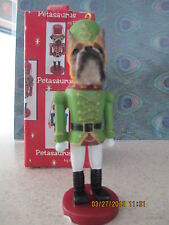 BOXER ~ FAWN CROPPED   ~ NUTCRACKER   SOLDIER DOG ORNAMENT #7