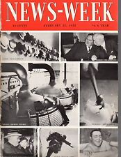 1933 Newsweek February 25-Roosevelt escapes assassination attempt;Charles Schwab