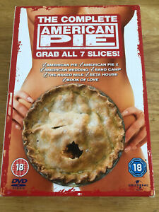 American Pie 1 2 Wedding Band Camp Naked Mile Beta House Book of Love 7-Disc Set